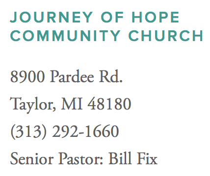 Journey of Hope Community Church