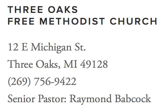 Three Oaks Free Methodist Church