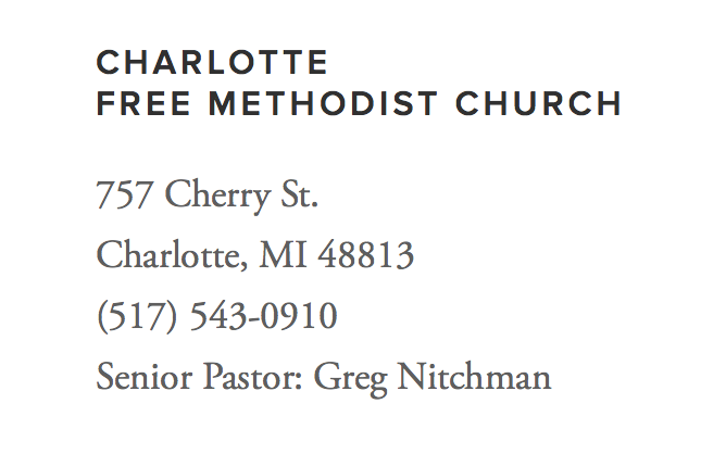 Charlotte Free Methodist Church