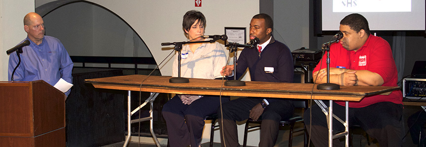 Panel at the Small Business Expo in Middletown, OH.