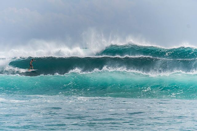 Impressive sets rolling in at #Balangan on a big day.  #surfsup #theyearbetween
