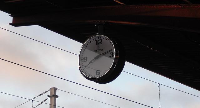 Foto:  Reloj por M.Peinado/Flickr