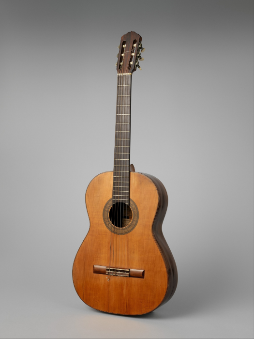 "Manuel Ramirez ""Segovia"" guitar; image Metropolitan Museum of Art"