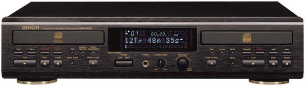 Denon Dual CD Player/Recorder: High fidelity reproduction arrives