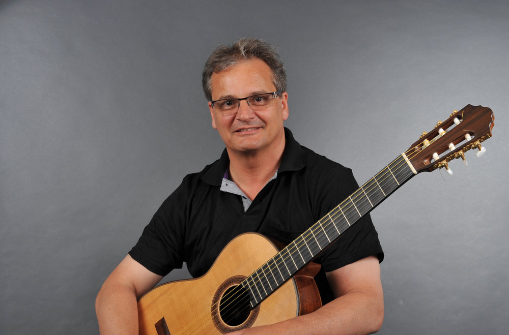 Composer/guitarist Jürg Kindle