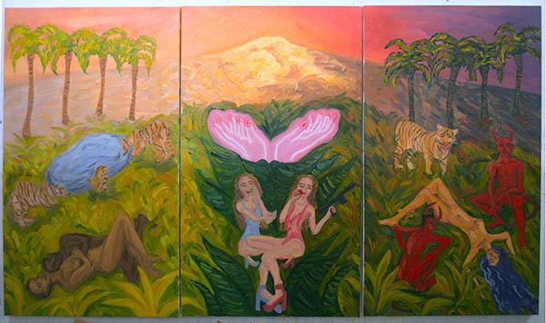 Masha Simonova  Heaven, Purgatory, Hell