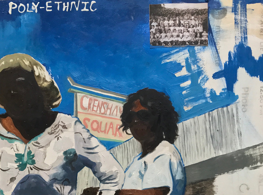 "Devin B. Johnson ""Poly-Ethnic (Crenshaw Square)."""