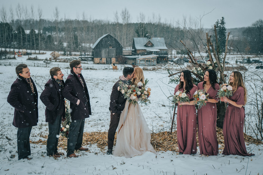 """A place where rustic marries elegance"" - The Enchanted barn . Located in Hillsdale, WI"