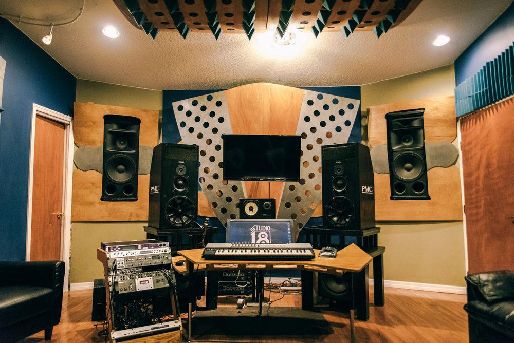 Studio A - Mastering Suite