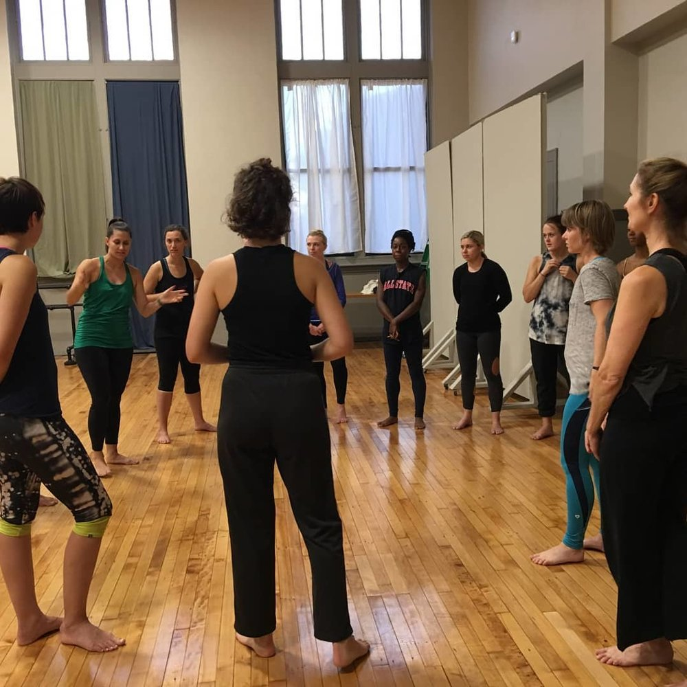 Photo from Lab with Leverage Dance Theater in St. Louis, MO.