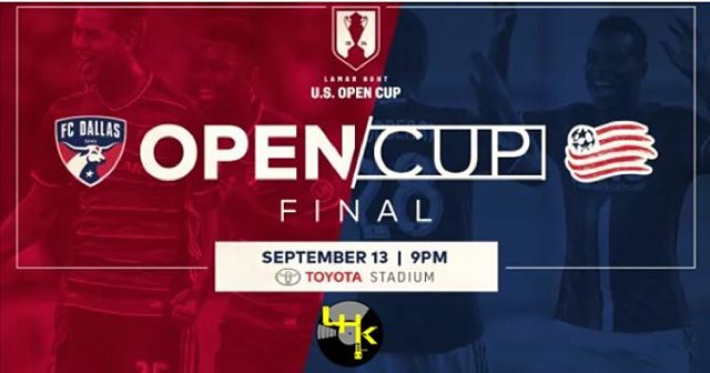 It's official!!! @ussoccer sets September 13th Lamar Hunt U.S Open Cup Final between @fcdallas and @newenglandrevolution_  And of course we will be rocking the @hotelsdotcomna soundstage for the pre-game. ⚽️⚽️ History will be made that day!! #LHK #fcdallas #dtid #ussoccer #soccer #futbol #lamarhuntuscupfinal #uscupfinal #fcdallasofficialdjs