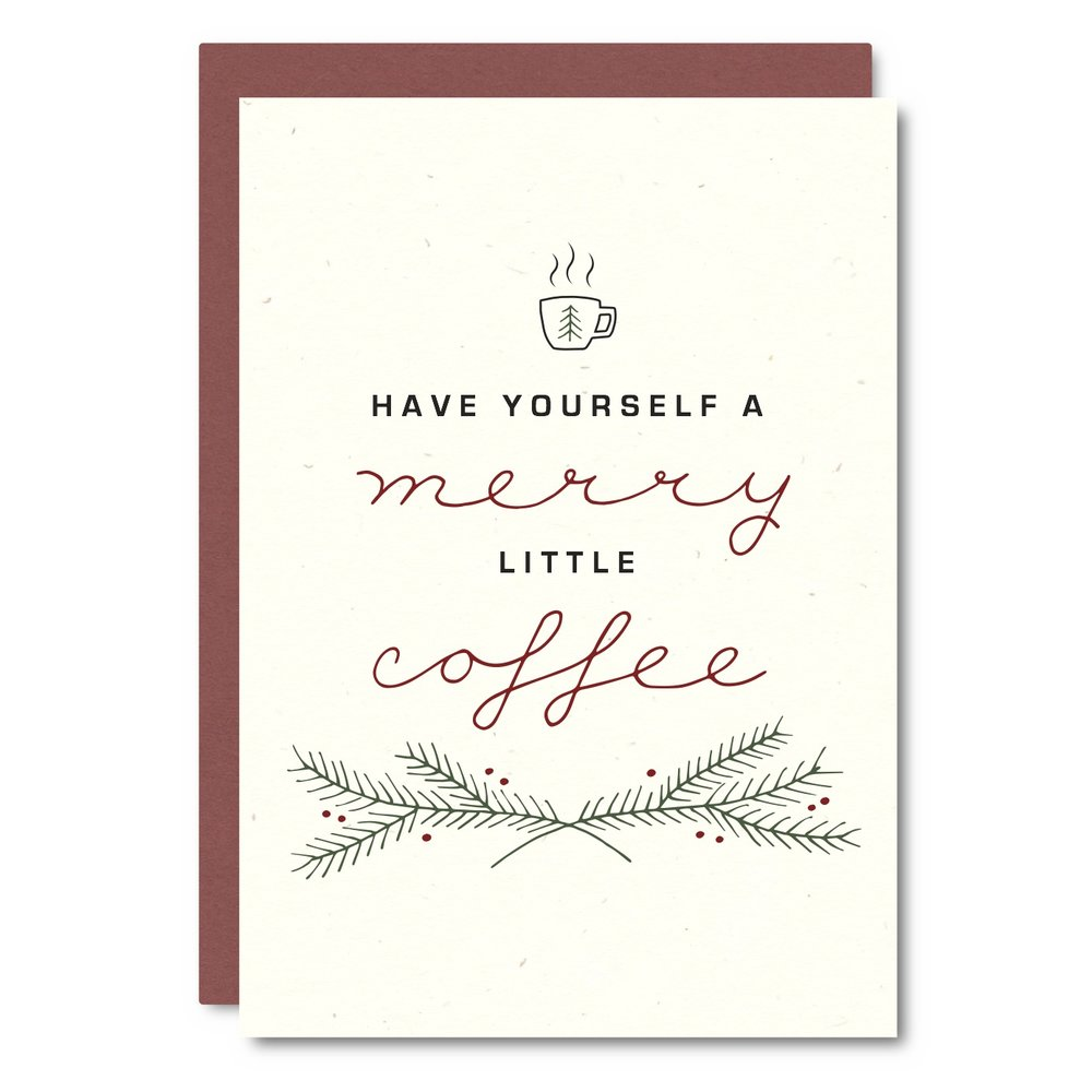 Merry Coffee    Card - CH02