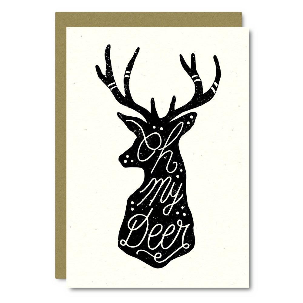 Oh My Deer    Card - AS01    8x10 Print - AP01