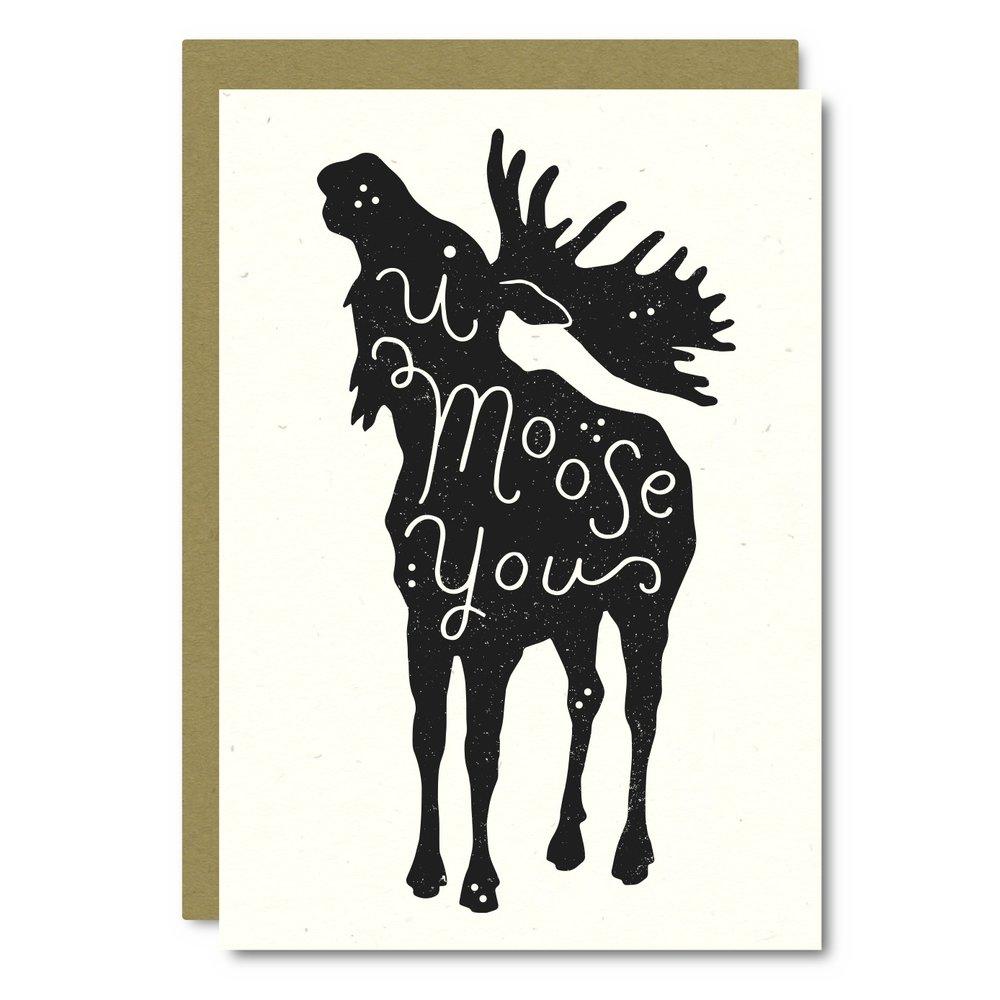 I Moose You    Card - AS05