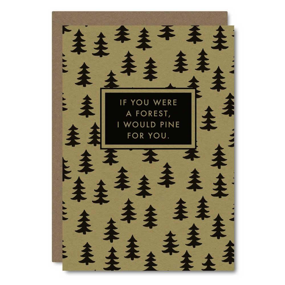 If you were...Forest    Card - UW02