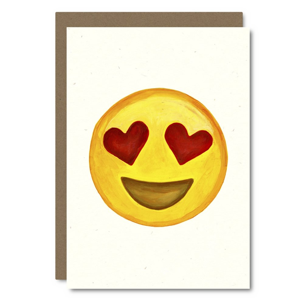 Emoji - Heart Eyes    Card - E  M01