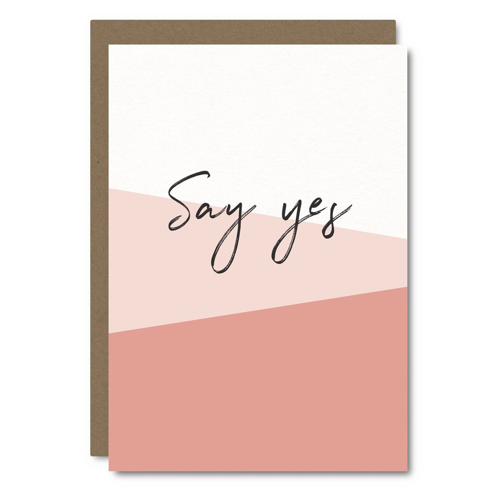 Say Yes    Card - SC09