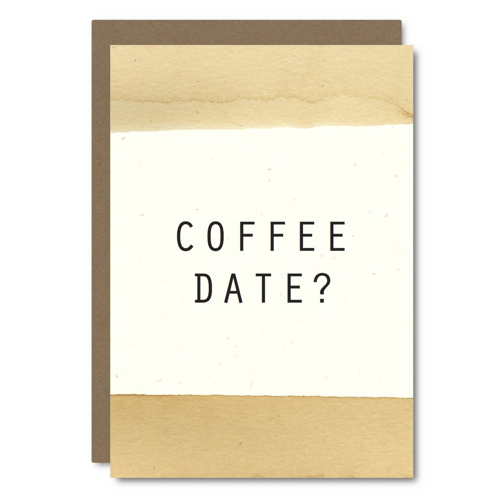 Coffee Date?    Card - CC10