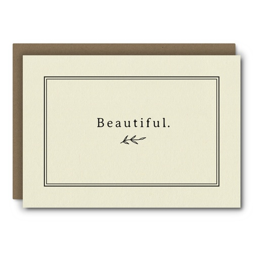 Beautiful    Card - AC11