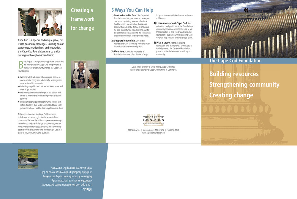 Brochure for a Nonprofit Foundation -