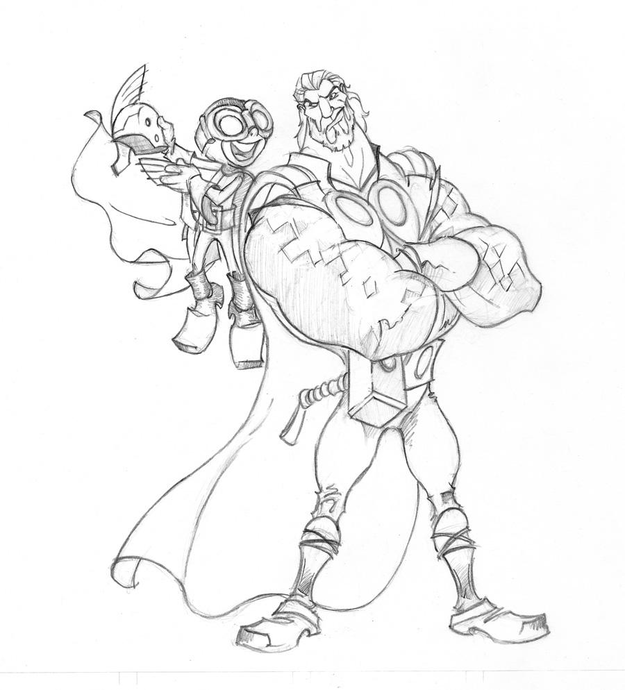Smash vs. Thor