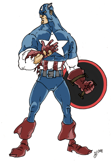 Cap. America colored
