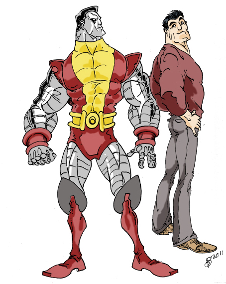 Colossus colored