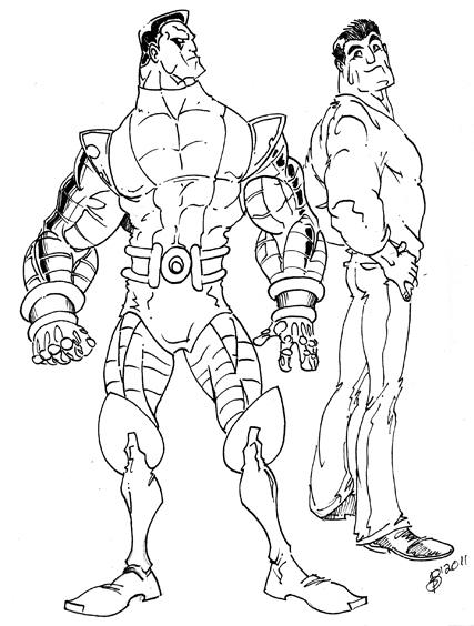 Colossus B&W