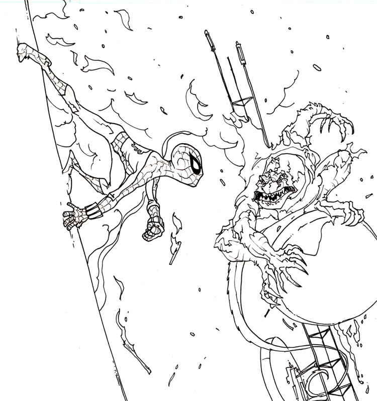 Spider-Man vs. the Lizard