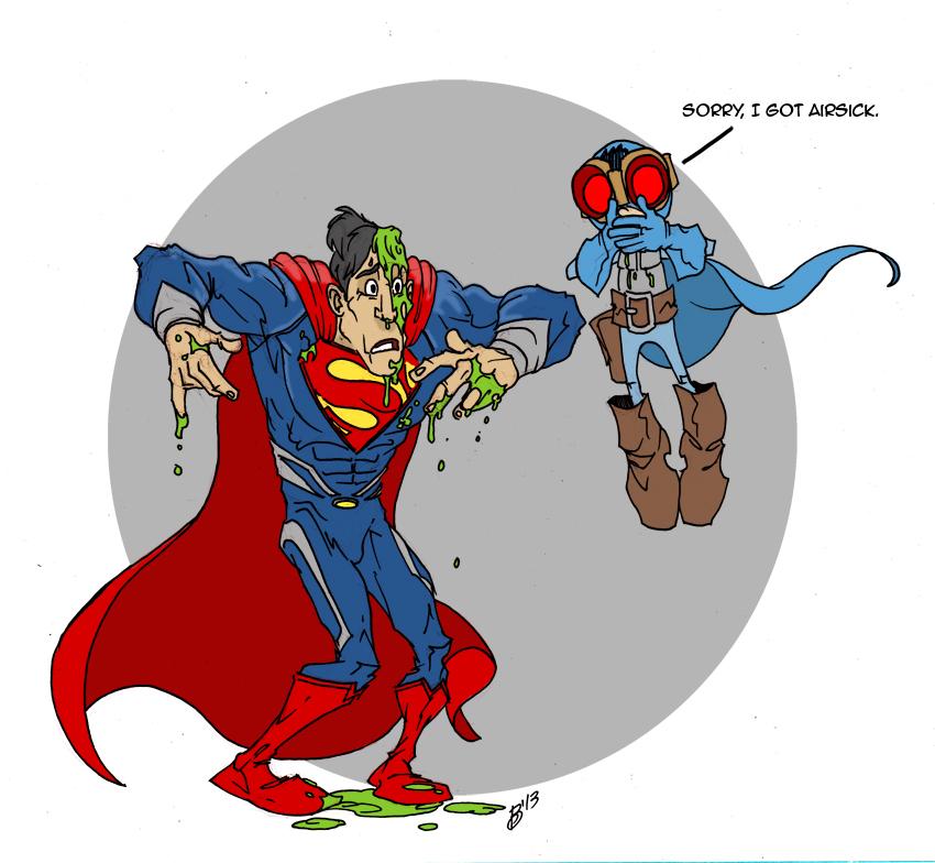 Superman Meets Smash