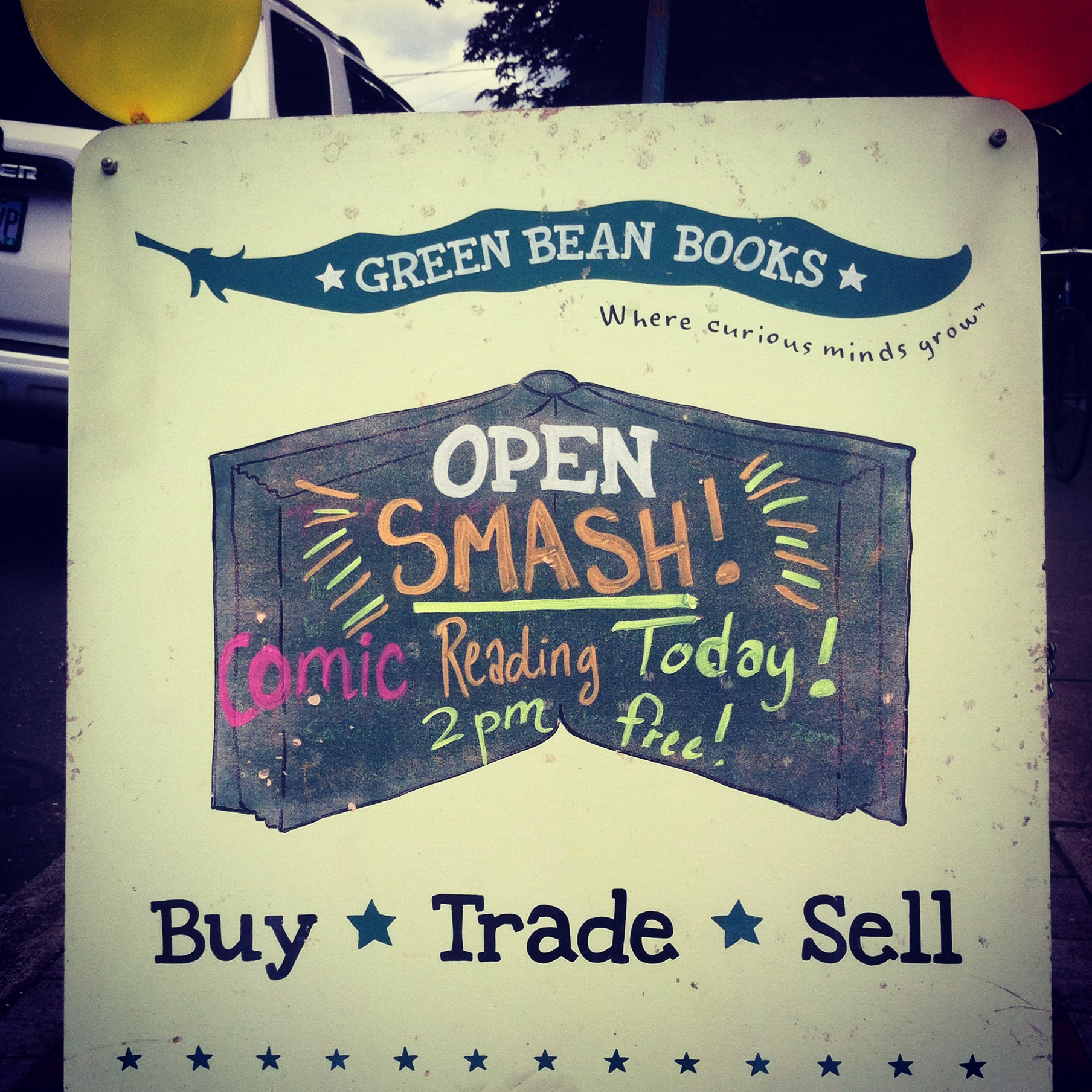 Green Bean sign