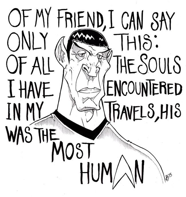 Leonard Nimoy, a.k.a. Spock
