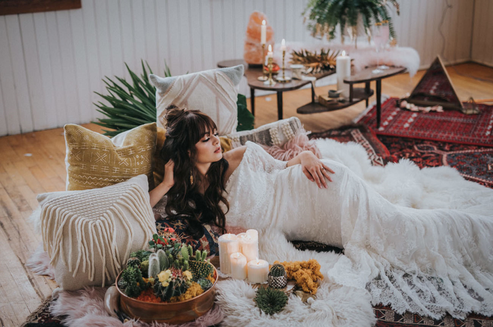 boho-bride-slaying-on-throwpillows