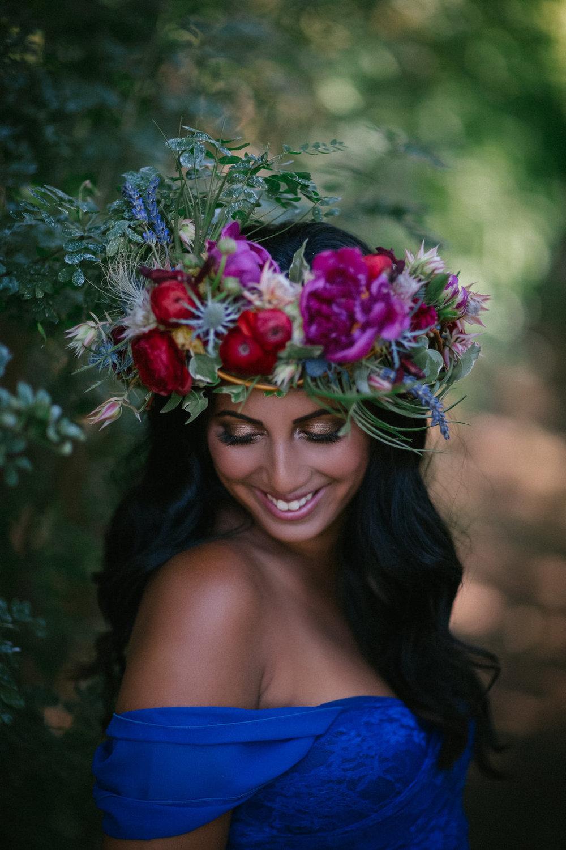 Flower crown fabloomosity floral atelier edmonton florist izmirmasajfo