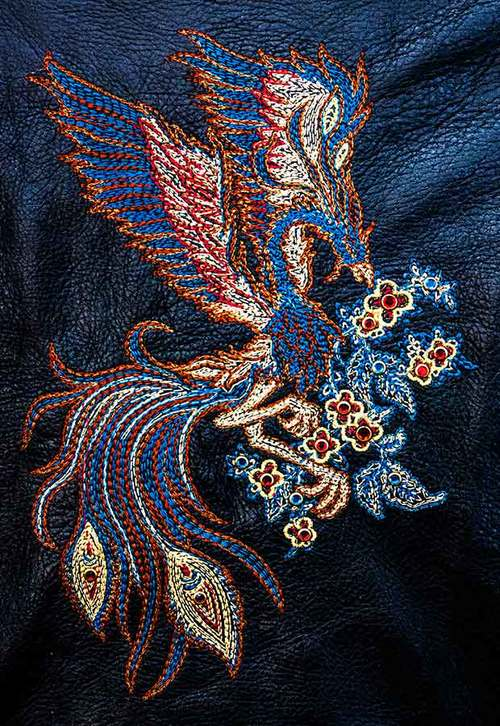 Digitizing And Embroidery 10 West Leatherworks 213 944 5733