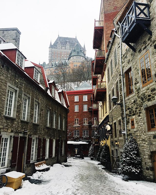 ❄️Quebec City is a magical place❄️