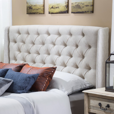 This discounted linen look headboard with white bedskirt will be used instead of the pricy linen bed shown in the story board. Also had great reviews and you cant beat the price.