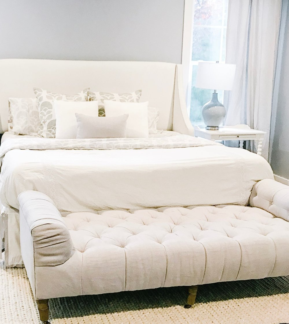 Shop Our Master Bedroom - Coming soon….