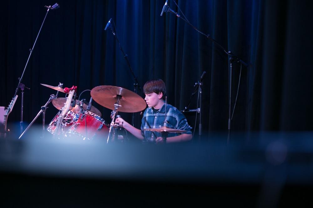 Nicholas, drummer for SLIME