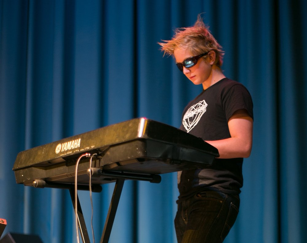 Henry on keyboard at The Rio Theatre 7.31.15