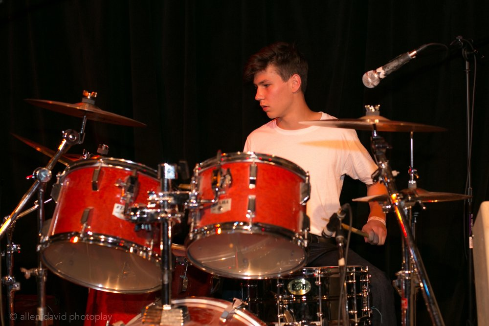 Kai on Drums