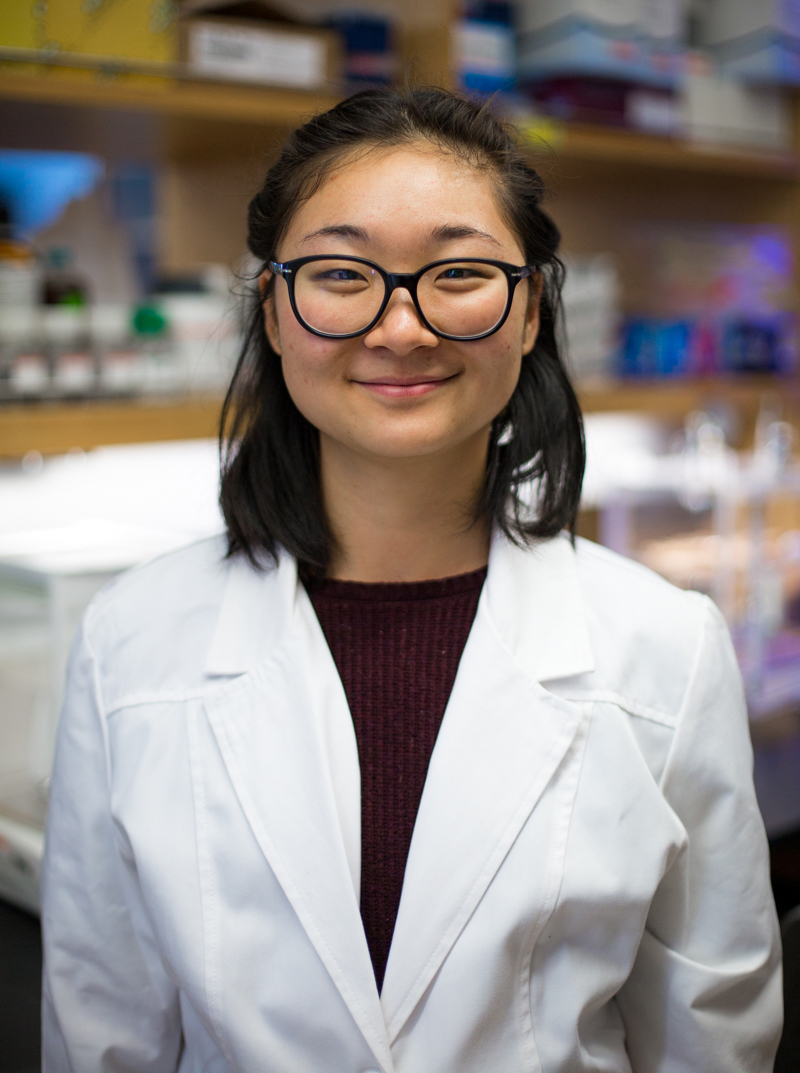 "Angela Bai (C'17) Biology Major  ""I went to Antarctica to collect microbial biofilm samples from paleolakes of the McMurdo Dry Valleys. We are studying these samples because we are interested in looking at theories of long-term cell survival in extreme climates.""  R  ead more ."