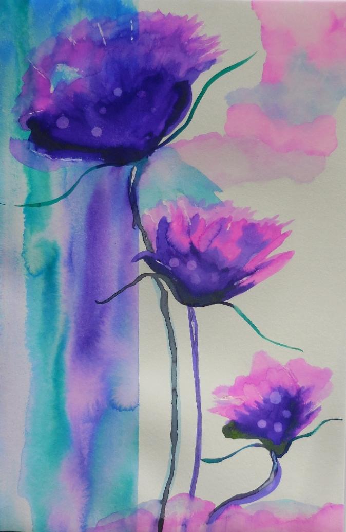 Passionate Purple Peonies