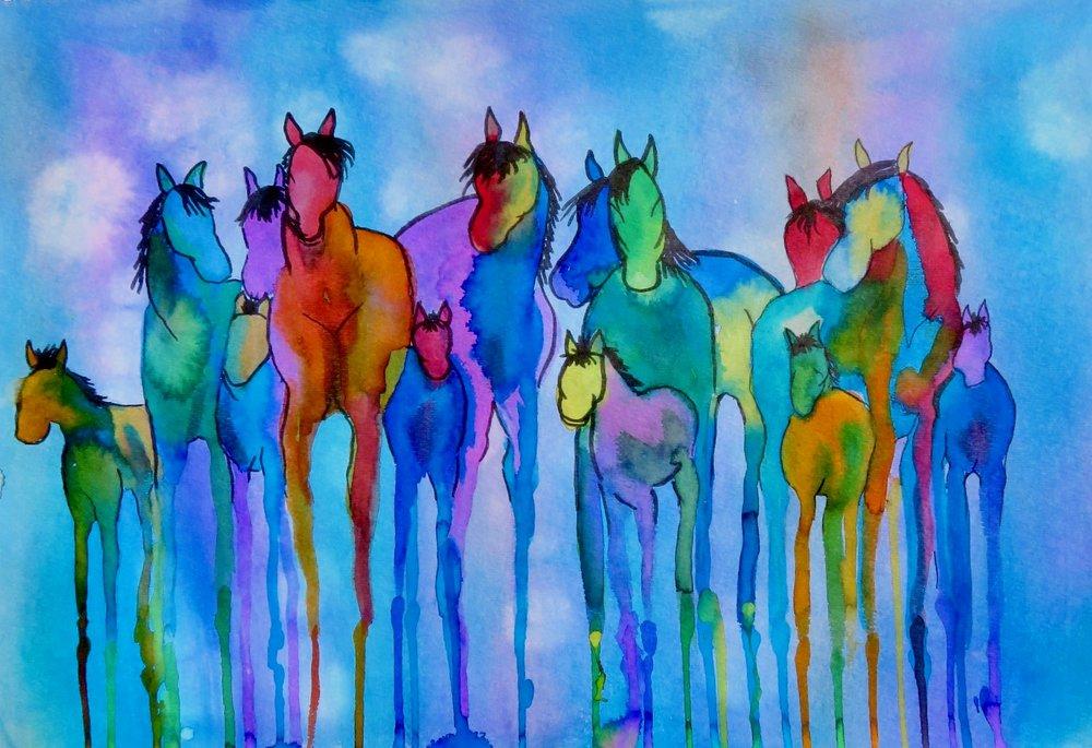 Gathering of Horses