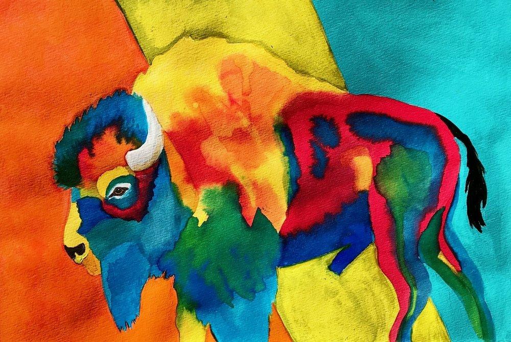 Buff of many Colors II