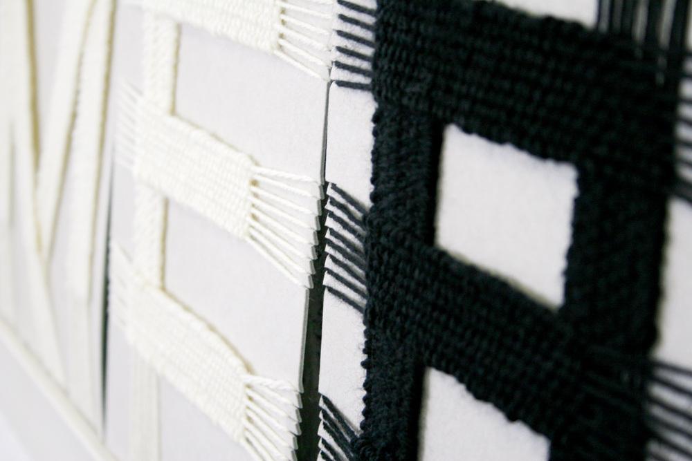Weaved letters © fannyducommun