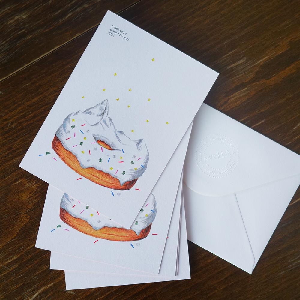 Mashka's Greeting Card 2016 ©FannyDucommun
