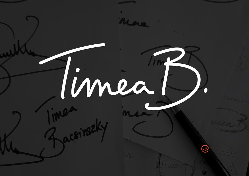 Logo design for Timea Bacsinszky. Website www.timea-b.com by tbnt.digital © timeabacsinszky