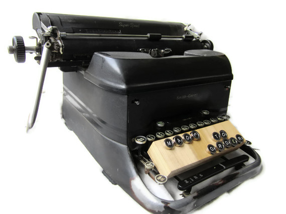 typewriter, vintage, handmade, local