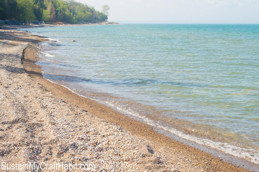 Beautiful Lake Huron shoreline